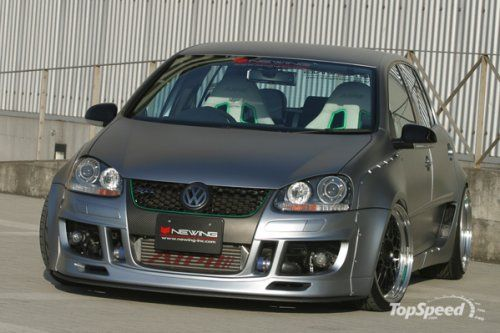 Vw Golf GTI RSR от Newing Tuning